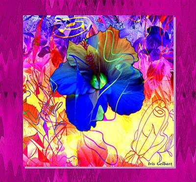 Digital Art - Tomorrow's Garden by Iris Gelbart