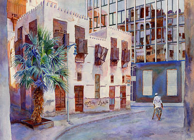 Souq Painting - Tomorrows World by Dorothy Boyer