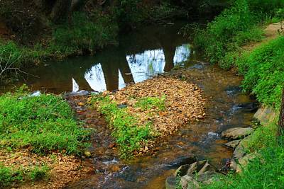 Photograph - Toms Creek 3 by Kathryn Meyer