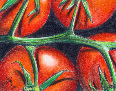 Painting - Toms On The Vine by Michael Foltz