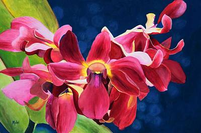 Tom's Orchid Art Print