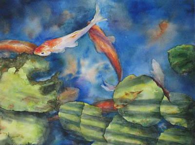 Tom's Pond Art Print by Mary McCullah