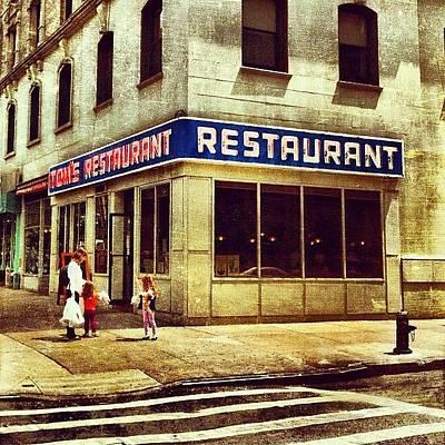 Food And Beverage Photograph - Tom's Restaurant. #seinfeld by Luke Kingma