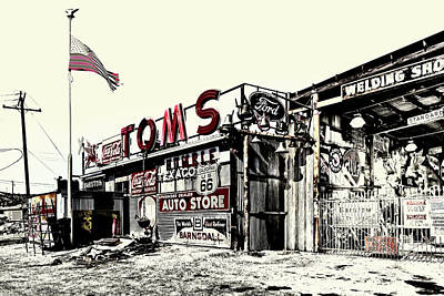 Photograph - Tom's Welding 3 by Jim Thompson