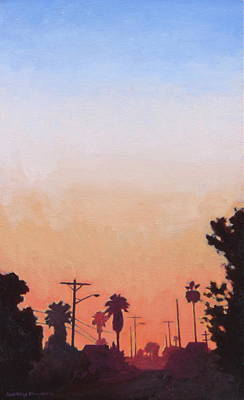 Painting - Tonal Hollywood by Andrew Danielsen