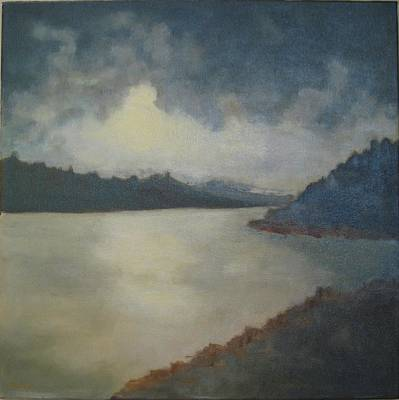Painting - tonal seascape II by Brent Moody