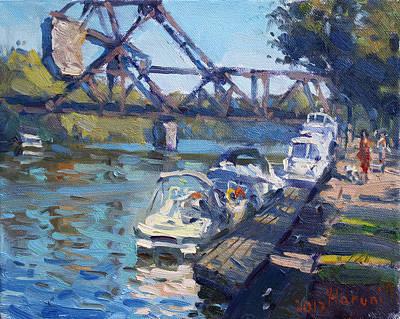 Tonawanda Jack Knife Bridge Original