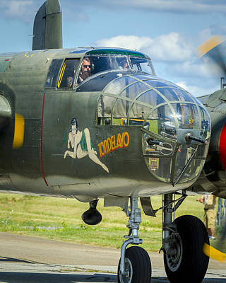 Music Royalty-Free and Rights-Managed Images - Tondelayo B-25 by Jack R Perry