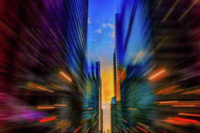 Digital Art - Tone Of Chicago by Judith Barath