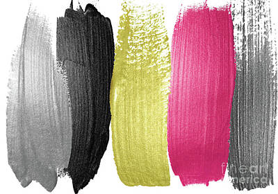 Chartreuse Painting - Tone Scale by Mindy Sommers