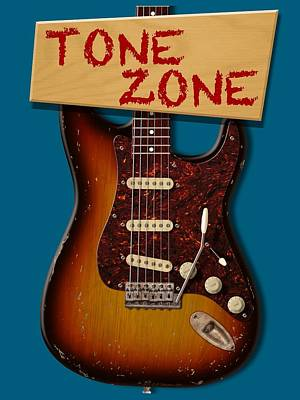 Digital Art - Tone Zone T-shirt by WB Johnston