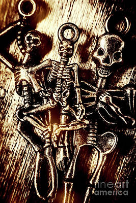 Metal Wall Photograph - Tones Of Halloween Horror by Jorgo Photography - Wall Art Gallery