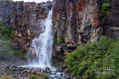 Photograph - Tongariro Waterfall by Patricia Hofmeester