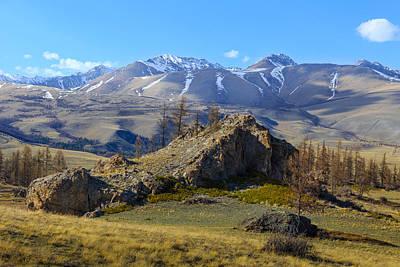 Photograph - Tongulansky Ridge. Altai Republic by Victor Kovchin