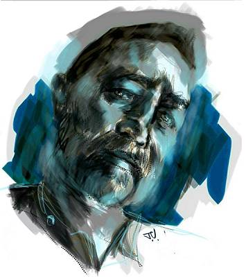 Painting - Toni by Jim Vance