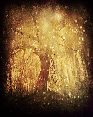 Surreal Dreamy Nature Photograph - Tonight Tonight by Studio Yuki
