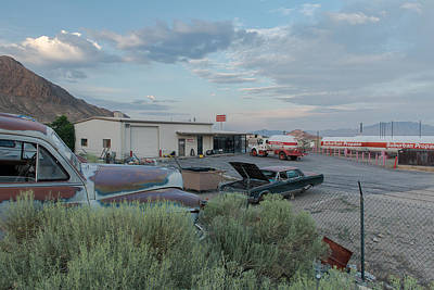 Tonopah Photograph - Tonopah by Christian Heeb