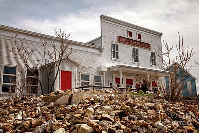 Old West Photograph - Tonopah Fire Department by David Millenheft