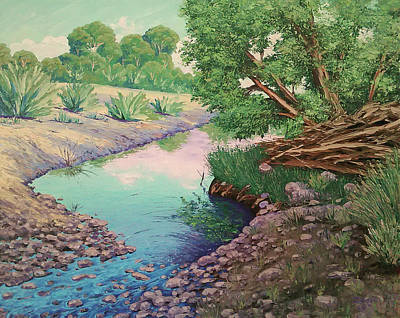 Painting - Tonto Creek by Cheryl Fecht