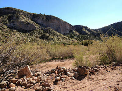 Dry Creek Photograph - Tonto Hills by Gordon Beck