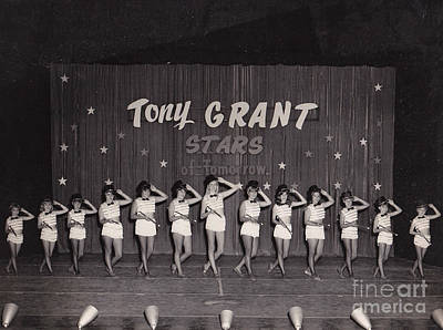 Photograph - Tony Grant Stars Of Tomorrow 1966 by Donna Brown