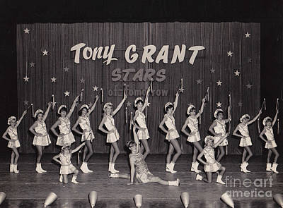 Photograph - Tony Grant Stars Of Tomorrow 1965 by Donna Brown