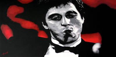 Painting - Tony by Hood alias Ludzska