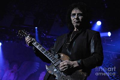 Photograph - Tony Iommi - Black Sabbath by Jenny Potter