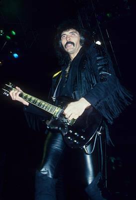 Photograph - Tony Iommi Of Black Sabbath by Rich Fuscia