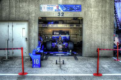 Indy Car Photograph - Tony Kanaan Indy by Josh Williams