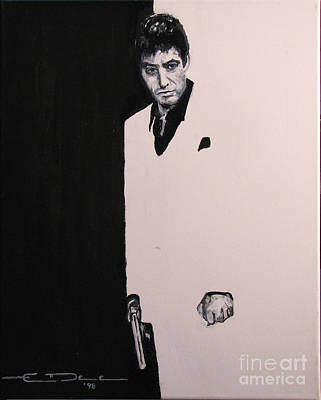 Tony Montana - Scarface Art Print by Eric Dee