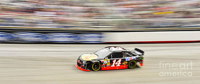 Tony Stewart Photograph - Tony Stewart At Bristol Motor Speedway During Nascar Sprint Cup  by David Oppenheimer