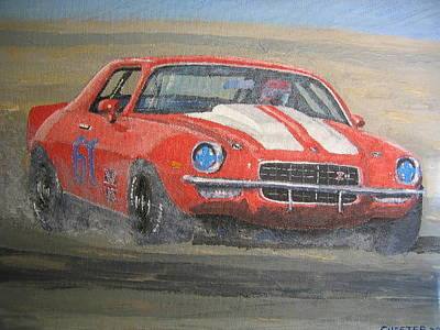 Painting - Tony's Camero by Francis Chester