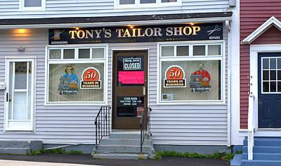 Photograph - Tony's Tailor Shop by Douglas Pike