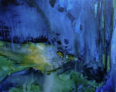 Painting - Too Blue by Gary Edward Jennings