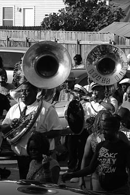 Sousaphone Wall Art - Photograph - Too Broke To Pay by David Fields
