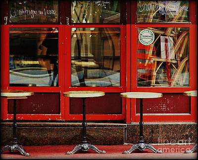 Montreal Restaurants Photograph - Too Early For Lunch by Anne McDonald