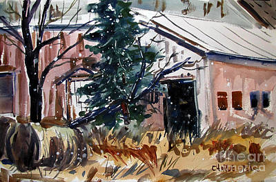 Indiana Landscapes Painting - Too Late To Move Hay by Charlie Spear