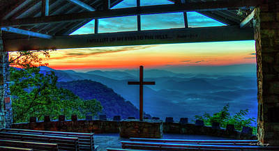 Photograph - Too Pretty Symmes Chapel Pretty Place Chapel Greenville South Carolina Art by Reid Callaway