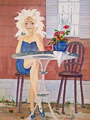 Attitude Painting - Too Sassy by Pamela Goedhart