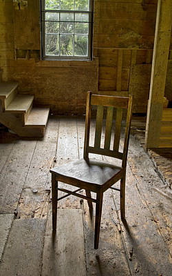Photograph - Questionable Chair by George Robinson