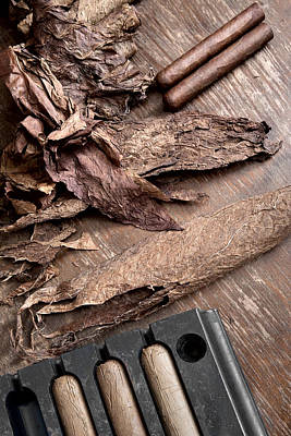 Photograph - Tool For Rolling Cigars  by Andrey  Godyaykin