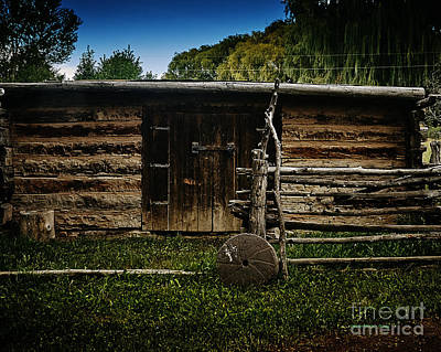 Photograph - Tool Shed by Charles Muhle