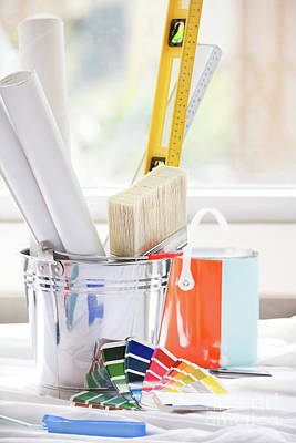 Photograph - Tools For Home Renovation by Anna Om