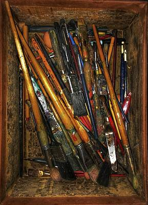 Photograph - Tools Of The Painter by Jame Hayes