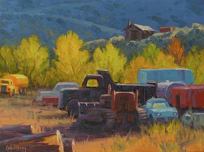 Truck Painting - Tools Of The Trade by Cody DeLong