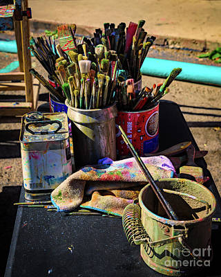 Photograph - Tools Of The Trade by Jon Burch Photography
