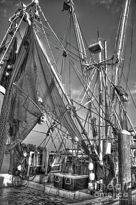 Photograph - Tools Of The Trade Shrimpgear Art by Reid Callaway