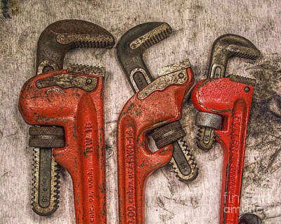 Tools Of The Trade Still Life Art Print by Randy Steele