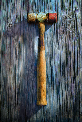 Photograph - Tools On Wood 20 by YoPedro